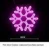 الثلوج 40CM الوردي