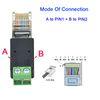 A para Pin1 B para pin2