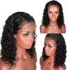 Curly Wig Brazilian Lace Front Human Hair Wigs For Women Natural Color Pre Plucked Full Lace Wig with Baby Hair
