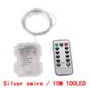 Silber Swire / 10M 100LED