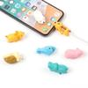 Cable Bite Charger Cable Protector Savor Cover for iPhone Lightning Cute Animal Design Charging Cord Protective