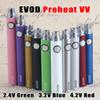 EVOD Preheat VV Vaporizer Battery 1100 900 650mAh Variable Voltage E Cigarette 510 Thread Vape Pen & E-Cig USB Charger eGo-T MT3 CE4 CE5