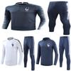 2 Star Thai 2018 France soccer Tracksuit PAYET POGBA Track suits jacket 2018 19 GRIEZMANN chandal training suits sports wear.