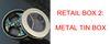 Caixa de metal tipos aleatórios / deixar mensagem