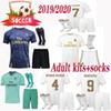 newest 2019 2020 adult real Madrid MODRIC Marcelo kroos socks 19 20 soccer jersey BALE ASENSIO ISCO RAMOS champions league Third Kit jersey