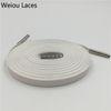 1262 Weiß + Silber Spitzen 100 cm