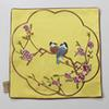 Vögel gelb33x33cm