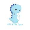 01 5pcs bleu