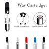 510 Thread Wax Cartridges Build-in Dab Tool With Creative Qcell Quartz Coil Vape Airis Quaser Atomizer Glass Tank