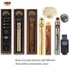 Brass Knuckles Battery 650 900mah Gold Wooden Variable Voltage Vape Pen For 510 Thraed Thick Oil vape Cartridges vape pen BK 510 battery