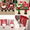 Christmas Pillow Cover 3D Dolls Xmas Tree Snowflake Santa Claus Cushion Cover Pillowcase Festival Home Decoration