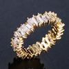 18 كيلو الذهب الأبيض الماس
