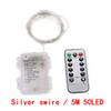 Silber Swire / 5M 50LED