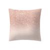 Rose Gold Pink Cushion Pillowcase Home Decoratio Simple Fashion Pillow Cases Cafe Home Solid color linen pillowcase