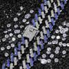 18inch, gümüş + Mavi
