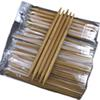 "Wholesale 15 Sizes 7.9"" 20cm Double Pointed Carbonized Bamboo Dark Patina Needles Knitting Knit Domestic tool sets 2.0mm-10.0mm"