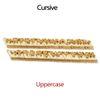Uppercase CURSIVE (A-Z)