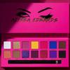 Eye Makeup Alyssa Edwards Rose Red Eye Shadow Palette 14 Colors Matte Pressed Eyeshadow Palette With Makeup Brush