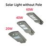 LED Parking Lot Lighting Solar Street Lights 20w 40w Radar Sensor Security Spot Light Waterproof Dusk to Dawn Outdoor Lamp