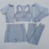 azul set 5 piezas de color gris