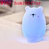 Creative Bear fragrance humidifier Mini USB atomizing air humidifier atmosphere night light Suitable home and office Mini Humidifiers