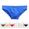 men's underwear sexy comfortable panty 2019 JQK thin ice silk men briefs shorts slip homme sexy gay panties stereo bag design