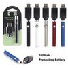 New Vertex 510 Thread Vape Battery 350mAh Preheat VV Variable Voltage Electronic Cigarettes Preheating Vape Pen Batteries Thick Oil Atomizer