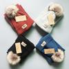 High quality Designer BABY BOYS GIRLS Caps 1-10 year old children's hat + scarf set of 2
