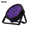 LED Flat Par 54x3W Violet Color Lighting
