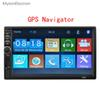 "2 Din GPS Navigator Navigation mp5 Car radio 7"" Player Touch Screen Car Video Multimedia Players Audio Stereo for Android phone"