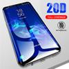 3D 20D Full Curved Edge Full Cover Tempered Glass for Samsung Galaxy S10E S8 S9 Plus S7 Note 8 9 A8 A6 2018 Screen Protector