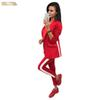 Length Ol Suits Chic Womens Sets Long Single Button Lining Pieces Pockets Jacket Skinny Pecil Pants Two Blazer Track Suit