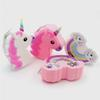 Wholesale Baby Girl Unicorn Rainbow Coin Purse Children Silicon Change Bag Girls Cute Mini Wallets Key Bag Storage Card Holder