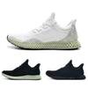 New Futurecraft 4D Men Black White Athletic Shoes Fashion Designer Alphaedge Ash Grey Onix Aero Running Sports Sneakers Trainer Shoes 40-45