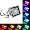 85-265V RGB LED Flood Light 10W IP65 Waterproof LED Floodlight Refletor LED Spot light For Outdoor Emergency light
