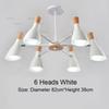 6 Heads White
