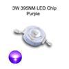 3W الأرجواني 395NM LED رقاقة