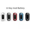 100% Quality Dazzvape U-Key Box Mod 350mAh Preheat VV Variable Voltage Flip Battery For 510 Thcik Oil Cartridges Tank Authentic