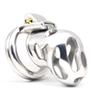 New Arrival 316 Stainless Steel Vent Hole Design Male Chastity Device La Color A