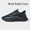 Negro brillante cian