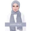 الحجاب الرمادي L