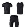T-shirt + Vest + Shorts