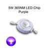 5W الأرجواني 365NM LED رقاقة