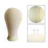 "21"" 22"" 23"" 24"" 25"" Professional Mannequin Canvas Block Head Wig Toupee Display Style Dry Dye With Mount Hole Canvas Block Head Mannequin"