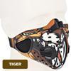 Máscara de ciclismo de tigre