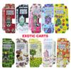 New Exotic Carts with Box Packaging Mario Carts Vape Cartridges AC1003 gold 1.0ml Ceramic Coil for 510 Thread Vape pen Thick Oil