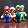 7 Style Super Mario Bros toy 2019 New Cartoon game Mario Luigi Yoshi princess Action Figure Gift Toys Cake ornaments For Kid