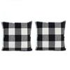 Pillows For Living Room 2pcs Lattice Bed Home Pillows Pillow Case Pillowcase Funda Almohada Fronha Fronha De Travesseiro