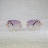 gold oval purple