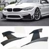 MA-0D Style Carbon fiber Front bumper Wind knife For BMW M3 M4 F80 F82